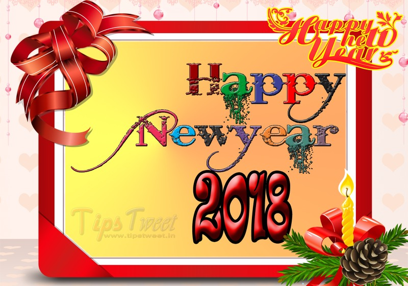 2018 Happy New Year Wallpaper, HD Wallpaper, Facebook Cover
