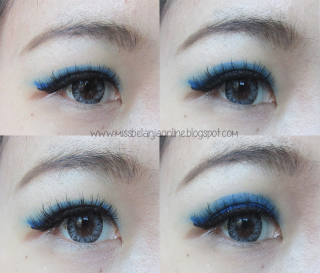 Make Over Royal Blue Eyeliner
