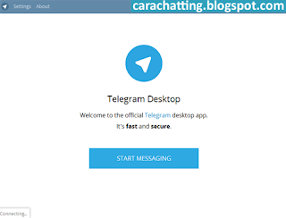 Cara Chatting Telegram