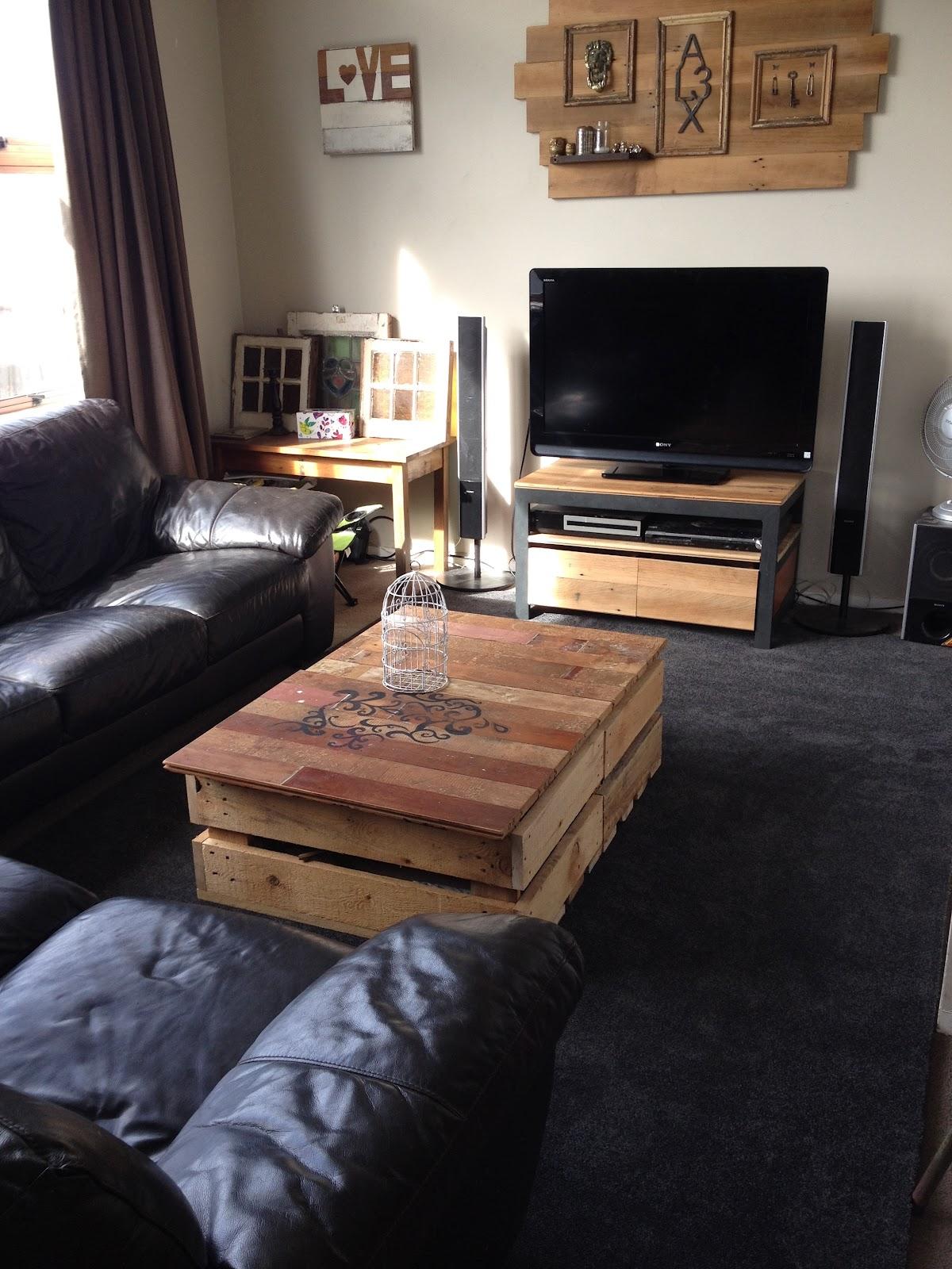 Home Made Diy Modern Rustic Living Room Make Over