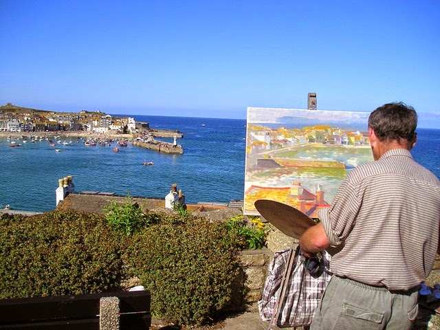 Painting in St Ives - Cornwall art holidays