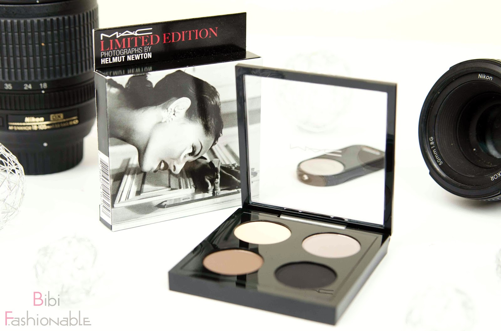 MAC Helmut Newton Limited Edition Point n Shot Quad Umverpackung