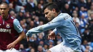 SERGIO AGUERO GOAL AGAINST WEST HAM UNITED VIDEO