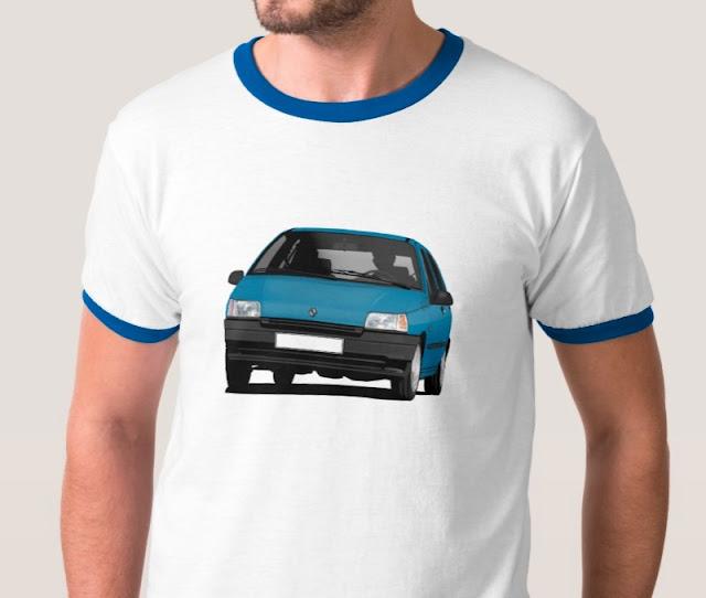Renault Clio 90's t-paita
