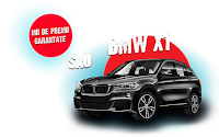 Castiga un BMW X1 + mii de premii garantate