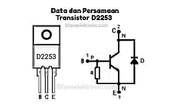 Persamaan Transistor D2253