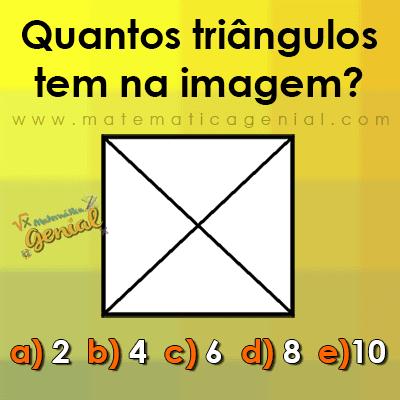 Desafio - Quantos triângulos tem nessa imagem?