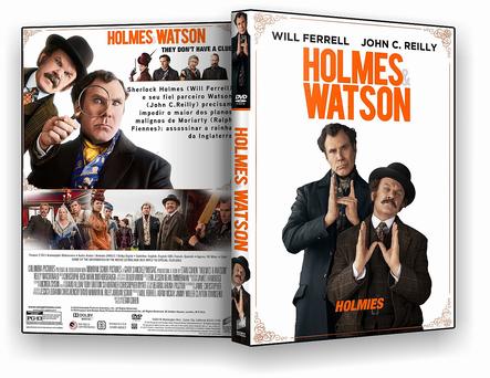 HOLMES E WATSON DVD-R OFICIAL