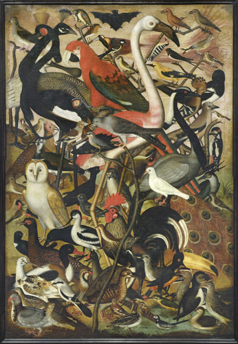 Les Oiseaux (1619) by an anonymous German Painter