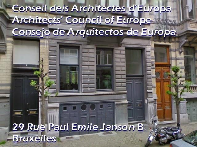 La profesión de arquitecto en Europa 2012