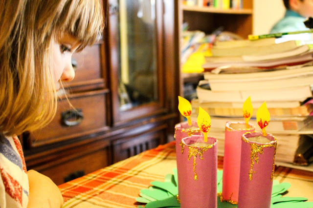advent, crafts, homeschool, holidays