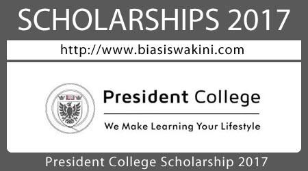 President College Scholarship 2017