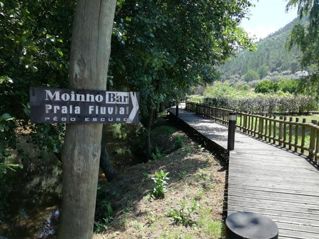 Passadiço Madeira ao Lado Rio Ceira