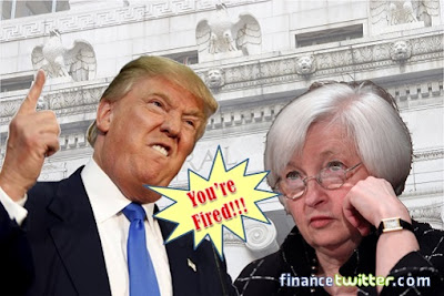 When will Trump Fire Fed Chairman Janet Yellen?