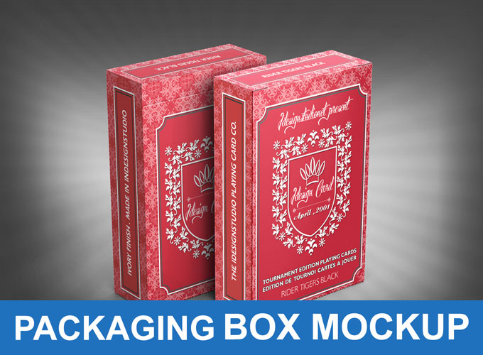 42 Free Boxes Mockup PSD for Packaging Designs