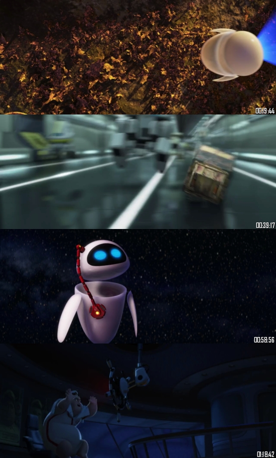WALL-E 2008 BluRay 720p 480p Dual Audio Hindi English Full Movie Download