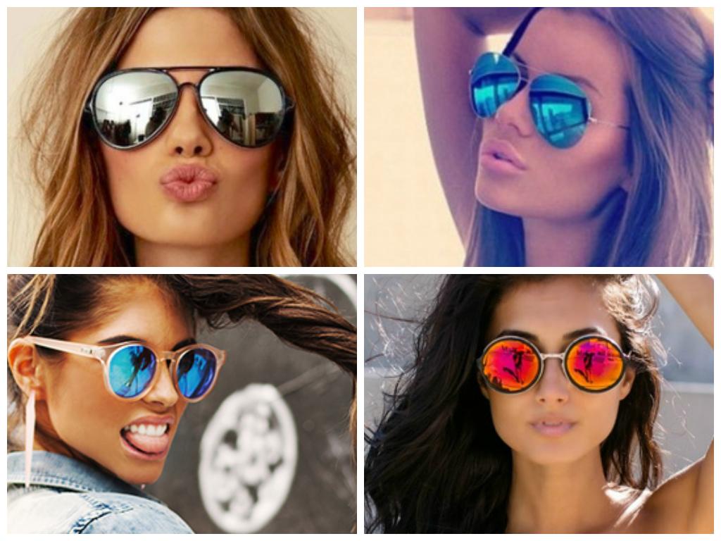 27ab154ba Sou da época que os extravagantes óculos espelhados eram usados apenas pela  galera do surf, porém é o queridinho das celebridades e fashion bloggers.