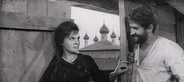 Les amants dans Lady Macbeth sibérienne de Andrezj Wajda (1962)