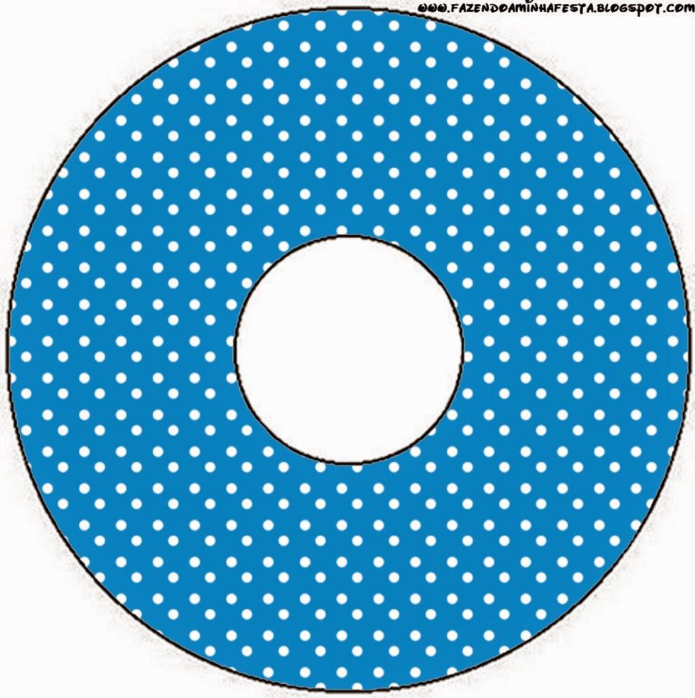 Etiquetas de Rojo, Amarillo y Azul para CD's.