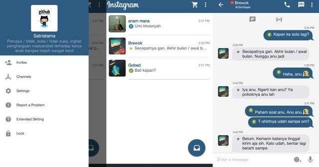 BBM Instagram v3.2.5.12 apk terbaru 2017 Full Dp