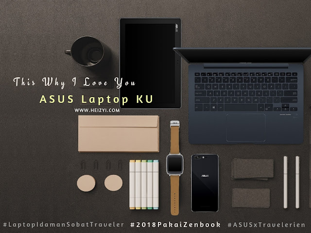 ASUS Zenbook UX331UAL Laptop Idaman Sobat Traveler