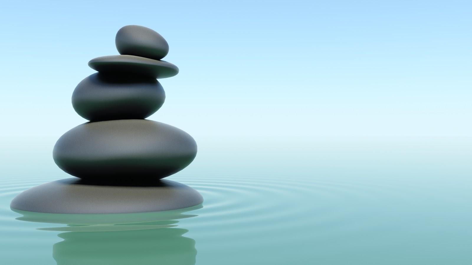 Zen Relaxation Backgrounds Blue Zen