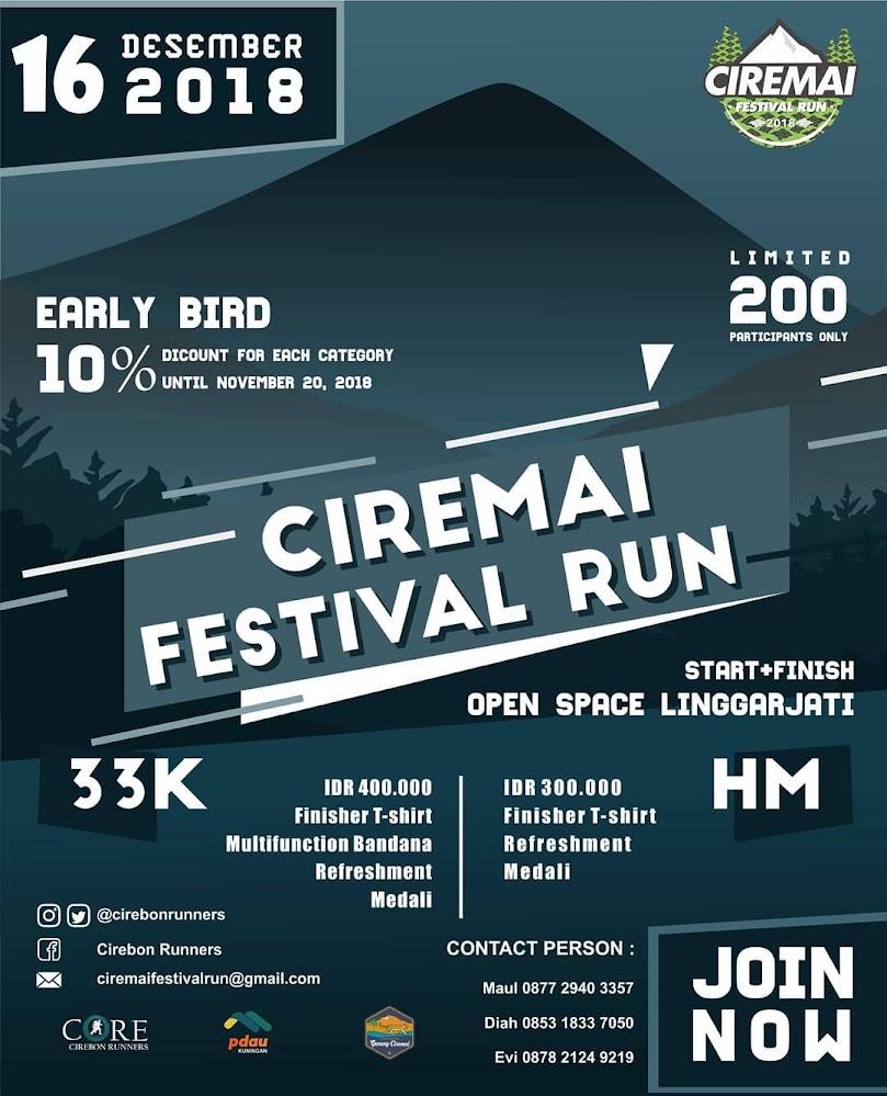 Ciremai Festival Run • 2018