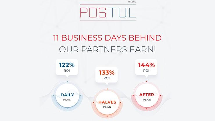 11 бизнес дней работы Postul Trade