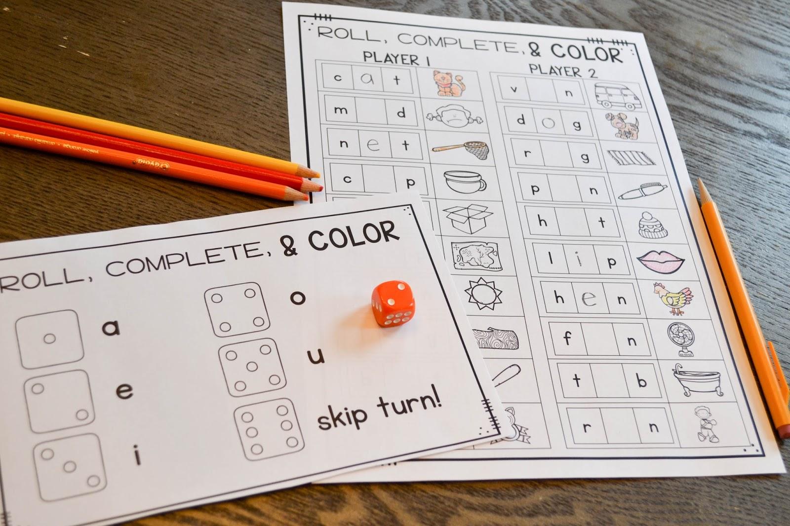 Phonics Games for First Grade - Susan Jones Teaching [ 1066 x 1600 Pixel ]