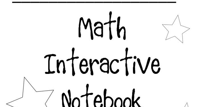 Thrifty in Third Grade: Math Interactive Notebook