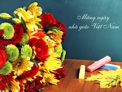 Happy Teacher's Day VietNam