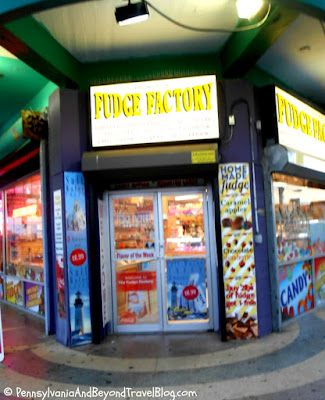 The Fudge Factory in Wildwood New Jersey