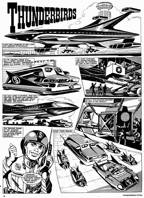 moonbase central more ic strips are go 1973 Sears Christmas Catalog my second selection is from the 1972 thunderbirds annual published by polystyle in which ron painted two excellent full colour strips