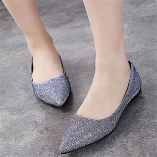 ... model sepatu flat ala korea desain casual elegan terbaru db132d60c7