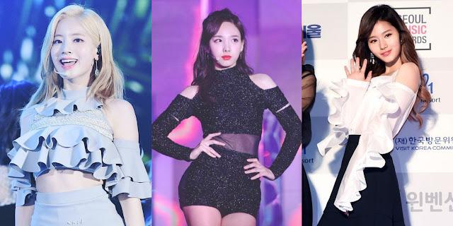 Tiga Member TWICE Dengan Outfit Terbaik Menurut K-Netz, Setuju?