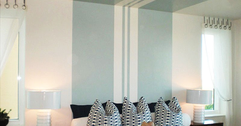 Striped Paint Ideas for Bedroom