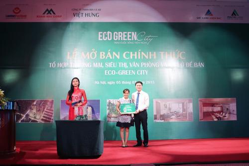 Việt Hưng đã rất thành công sau dự án Eco Green City