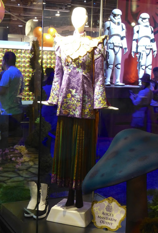 Alice Through Looking Glass Mandarin costume exhibit D23 Expo