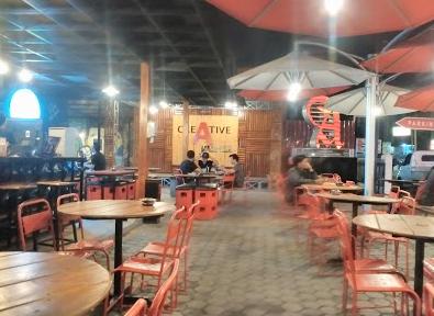 tempat nongkrong di pekanbaru. waroeng wahid