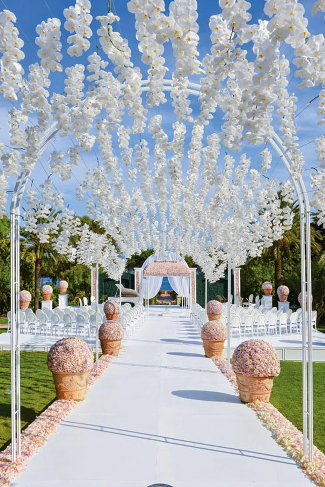 Style the Aisle | Wedding Ceremony Ideas - Belle The Magazine
