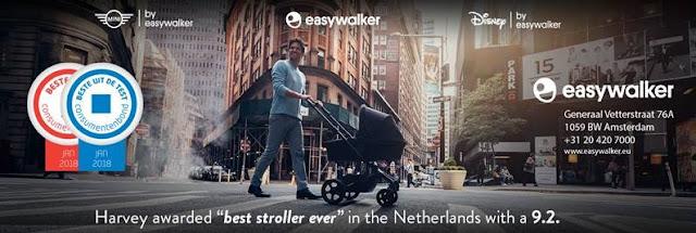 Beste kinderwagen uit de test. Easywalker Harvey [Consumentenbond].