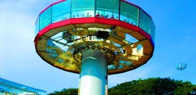 Menara taming sari bandar hilir melaka