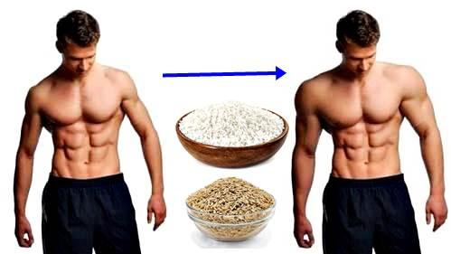 Los flacos suben de peso fácil comiendo arroz