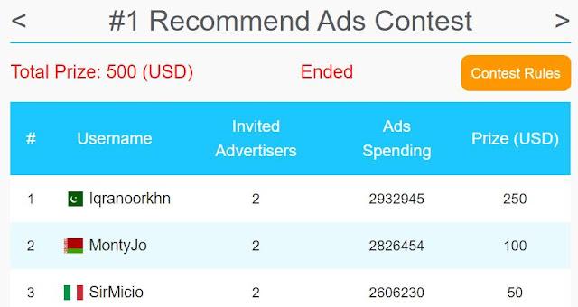 coinpayu ads contest