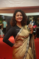 Aditi Myakal look super cute in saree at Mirchi Music Awards South 2017 ~  Exclusive Celebrities Galleries 019.JPG