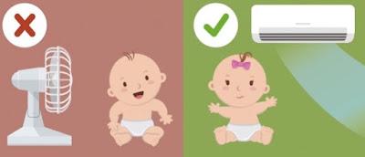 Hướng dẫn cách sử dụng điều hòa cho trẻ nhỏ đúng cách