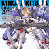 MOBIL SUIT GIRL Mika Akitaka Gundam MS Girls Art Collection