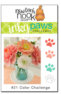 Inky Paws Challenge #21 Color Challenge | Newton's Nook Designs