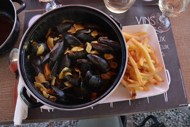 La Manoir Mont Saint Michel mussels