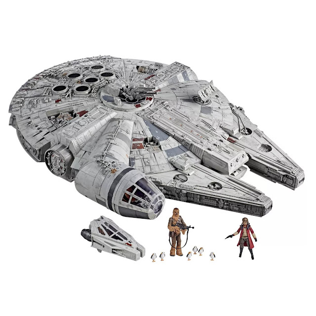 Hasbro's Star Wars The Vintage Collection Galaxy's Edge Millennium Falcon Smuggler's Run Star Wars Galaxy's Edge Target Merchandise